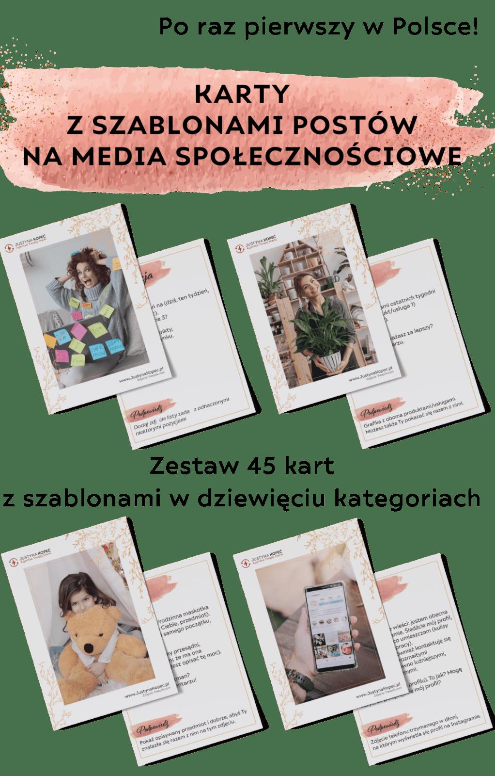 Justyna Kopeć marka osobista wyzwanie facebook