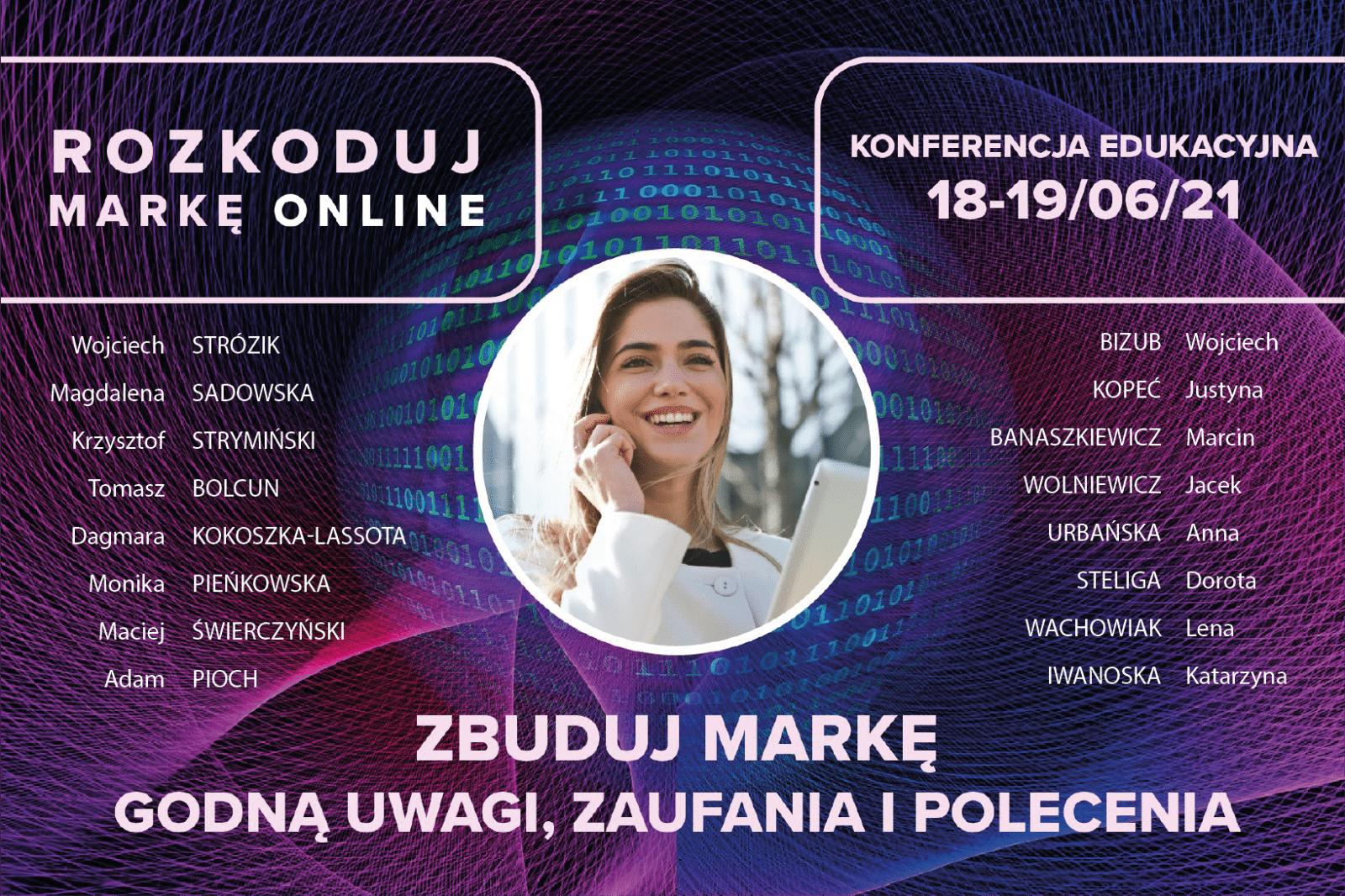 Rozkoduj markę online Justyna Kopeć