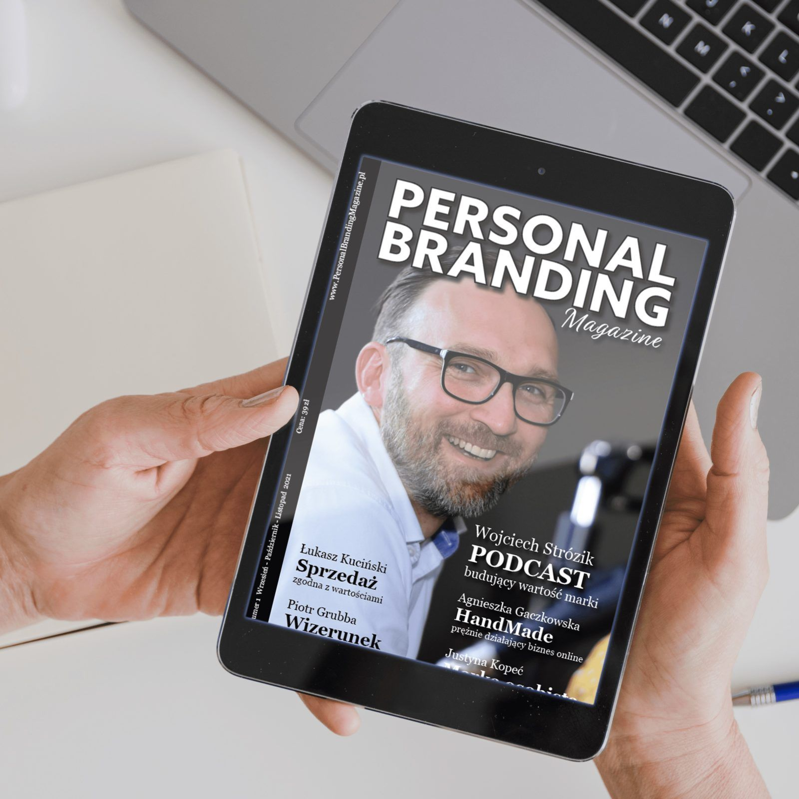 Personal Branding Magazine Wojciech Strózik Justyna Kopeć